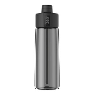 TechComm Bocombi Smart Water Bottle with Zephair Hydration Tracking, Smart Straw Technology and Hydration Reminders