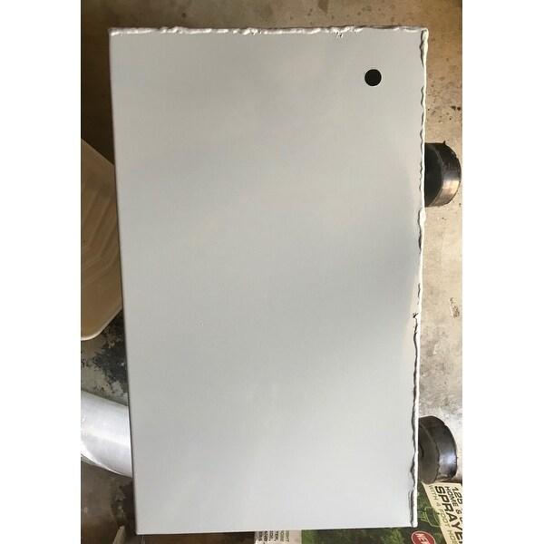 Shop vidaXL Patio Umbrella Base Planter Pot w/ Wheels Metal