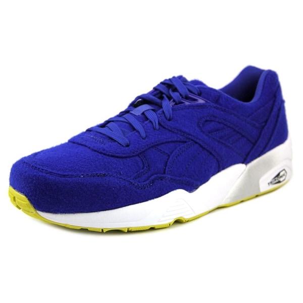 Puma R698 Bright Round Toe Canvas Sneakers