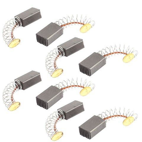 8 Pcs Replacement Electric Motor Carbon Brushes 12mm x 8mm x 5mm for Motors