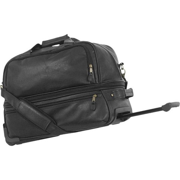 9332bbdba991 Shop Mercury Luggage Highland Series Expandable Wheeled Sport Duffel Black  - US One Size (Size None) - Free Shipping Today - Overstock.com - 8068867