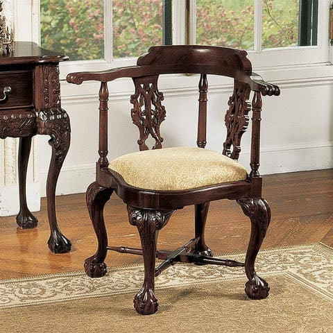 Chippendale Corner Chair DESIGN TOSCANO CHAIRS chippendale chairs