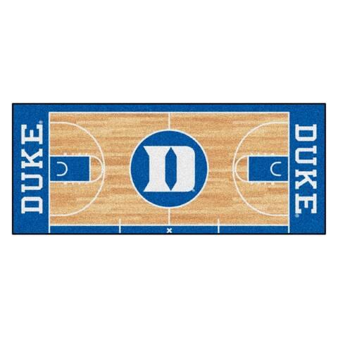 Duke University Court Runner Rug - 30in. X 72in. - 2' x 6' Runner
