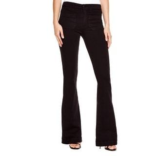 Hudson Womens Taylor Flare Jeans Denim High Waist