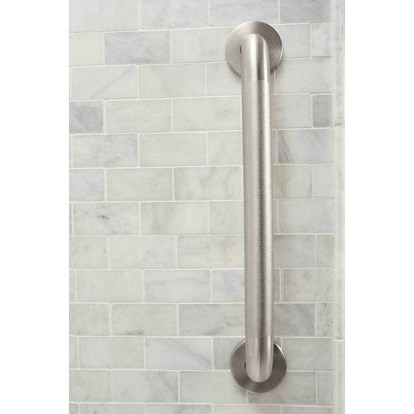 """Moen R8724P 24/""""x1.25/"""" Grab Bar from the Home Care Collection"""