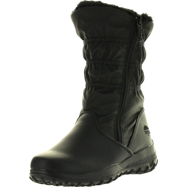 Totes Womens Ruby Winter All Weather Boots - Black