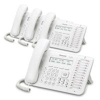Panasonic-KX-DT543-White (4 Pack) 24 Button 3-line Digital Telephone