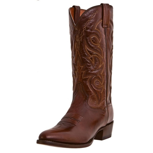 Dan Post Western Boots Mens Milwaukee Cowboy Tan Mignon Corona