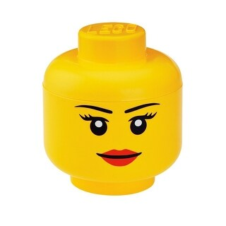 LEGO Small Storage Head, Girl - Multi