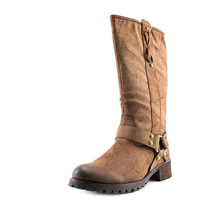 Report Tessah   Round Toe Synthetic  Boot