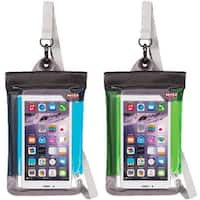 Witz Lightweight Waterproof Smartphone Soft Pouch with Removable Strap - One Size