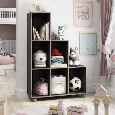 Furniture of America Seas Contemporary 6-shelf Display Cabinet
