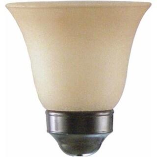 """Volume Lighting GS-153 4.75"""" Height Sandstone Glass Bell Ceiling Fan Light Kit S"""