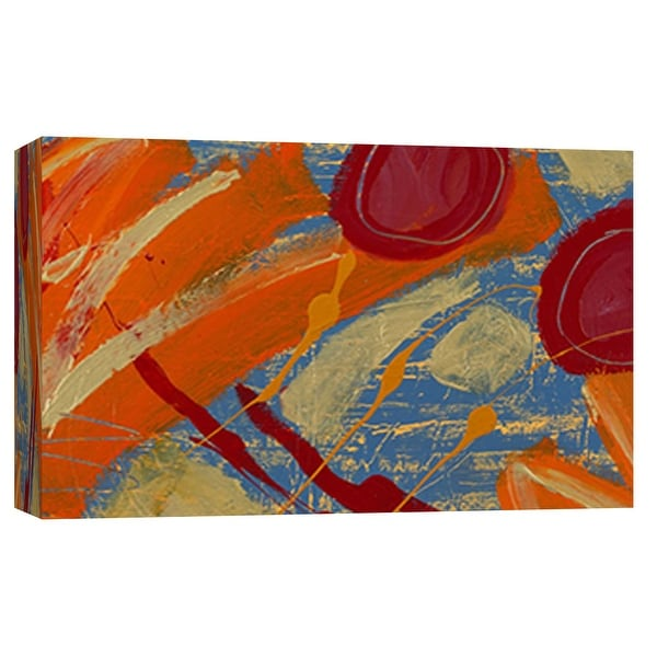 """PTM Images 9-101805 PTM Canvas Collection 8"""" x 10"""" - """"Beach View"""" Giclee Abstract Art Print on Canvas"""