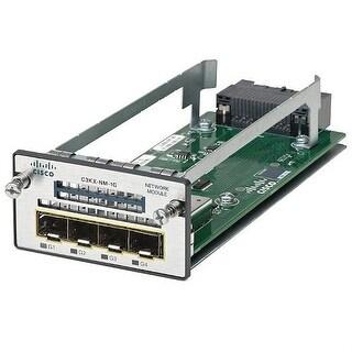 Cisco C3850NM210GG Cisco Expansion Module 10 Gigabit LAN 2 Ports for Catalyst 3850-24 3850-48 - C3850-NM-2-10G