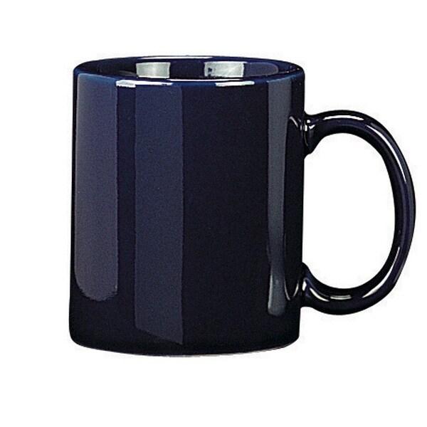 HIC 90008 Mug, Porcelain, Blue, 12 Oz