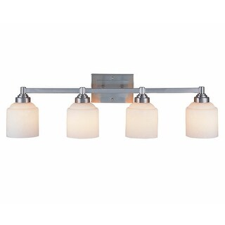 """Savoy House 8-4658-4 4 Light 33.87"""" Wide Bathroom Fixture from the Wilmont Collection"""