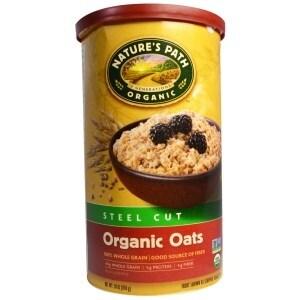Nature's Path Organic Steel Cut Oats - Case of 6 - 30 oz.