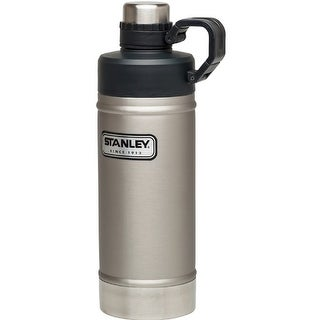 Stanley Classic 18oz. Vacuum Water Bottle-Stainless Steel 10-02105-003
