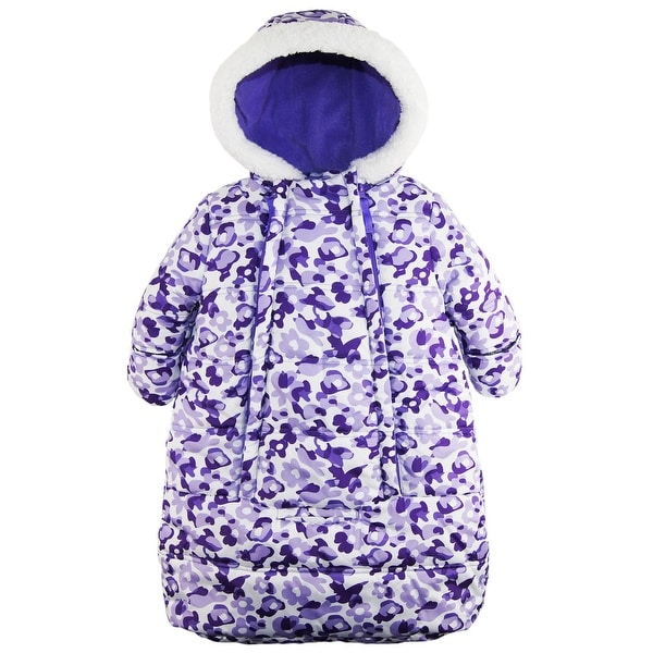 4cc6672f4 Shop Pink Platinum Baby Girls Snowsuit Carbag Floral Camo Winter Puffer  Bunting Pram - Free Shipping On Orders Over $45 - Overstock - 18694553