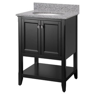 "Foremost AUBV2422 Auguste 24"" Single Vanity Cabinet Only - Less Vanity Top"