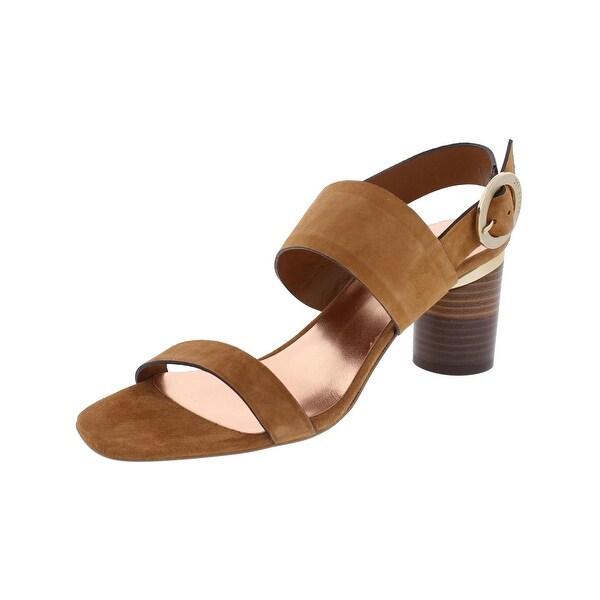 Ted Baker Womens Azmara Heels Open Toe Stacked - 7 medium (b,m)