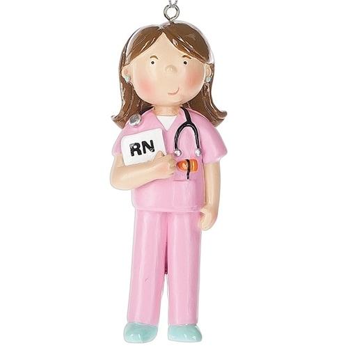 Brunette Female Nurse