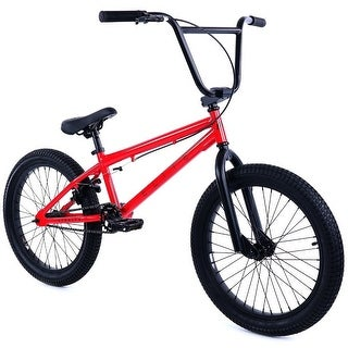 "Elite 20"" BMX - Stealth Bicycle Freestyle Bike - Red"