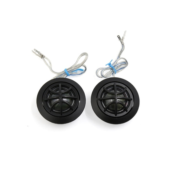 2 Pcs 300W Surface Mount 6.2cm Diameter Dome Tweeters Speakers for Car