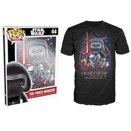 Funko Pop Black Star Wars Episode 7 Force Awakens T-Shirt