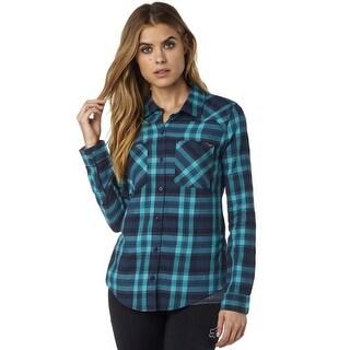 Fox Racing Women's Utilized Long Sleeve Flannel - 19090