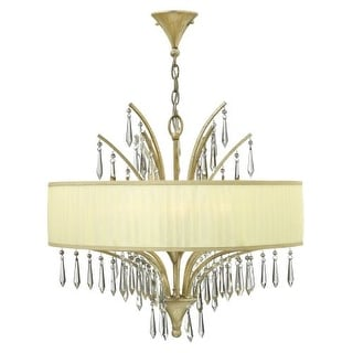 Fredrick Ramond FR40776 6 Light 1 Tier Chandelier from the Camilla Collection