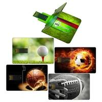 Idol Memory  16 GB Ultra-Thin Credit Card USB Flash Drive - Pack of 12
