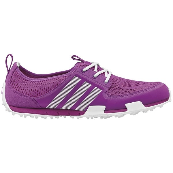 separation shoes 958d1 9f6f7 Adidas Women's Climacool Ballerina II Flash Pink/Running White Golf Shoes  Q46720