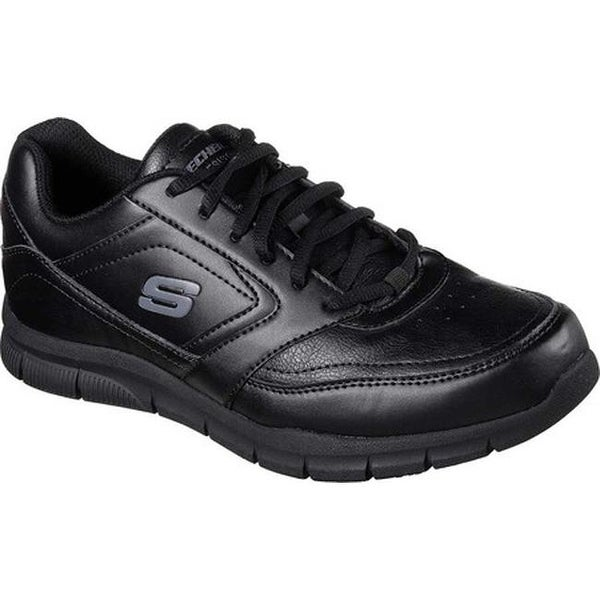 Shop Skechers Men's Work Relaxed Fit Nampa Slip Resistant