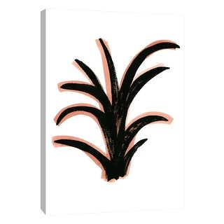 """PTM Images 9-108687  PTM Canvas Collection 10"""" x 8"""" - """"Coral 5"""" Giclee Botanical Art Print on Canvas"""
