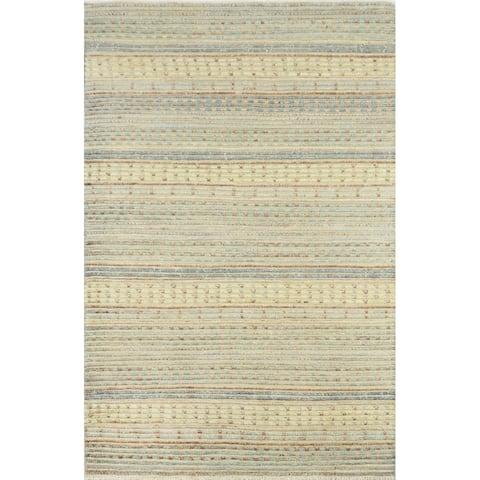 """Momeni Heirlooms Barjasteh Hand Knotted Wool Multi Area Rug - 4'1"""" X 6'2"""""""