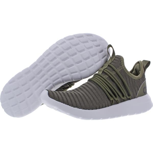 Shop Adidas Mens Lite Racer Adapt Running Shoes Mesh Stretch - Raw Khaki/Raw  Khaki/Core Black - Overstock - 32299450