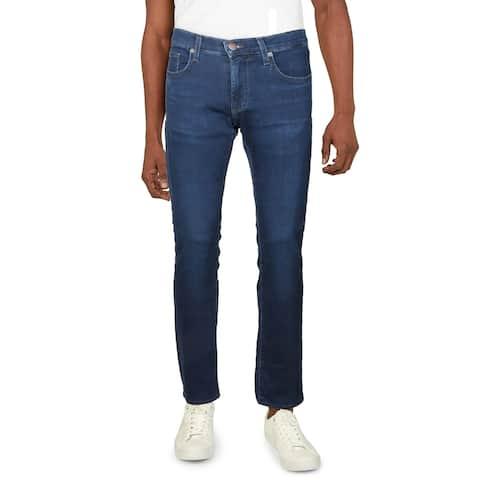 J Brand Mens Kane Straight Leg Jeans Denim Light Wash
