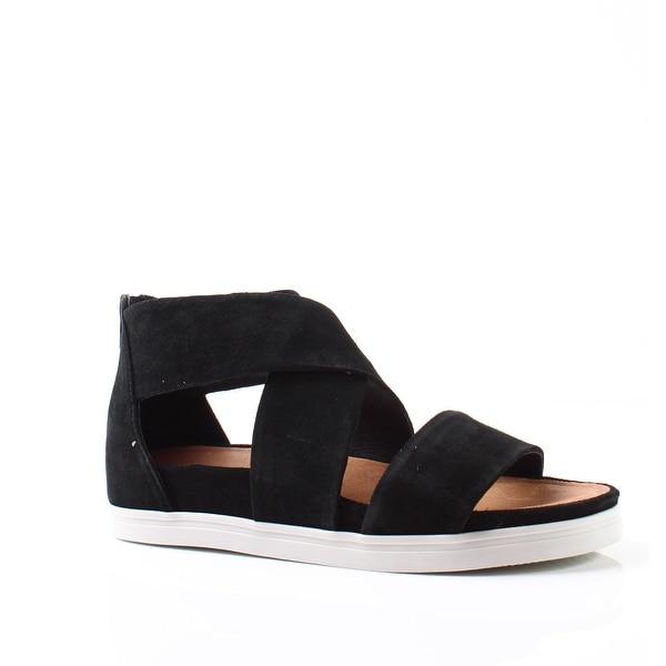 Steven by Steve Madden NEW Black Womens Shoes 6.5M Flrence Sandal