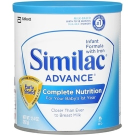Similac Advance EarlyShield Powder With Iron 12.4 oz