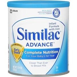 Similac Advance EarlyShield Powder With Iron 12.4 oz