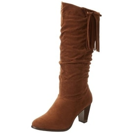 Rampage Womens ISHMAEL Round Toe Knee High Fashion Boots