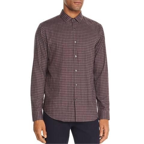 Theory Mens Murrary Button Up Shirt