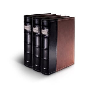Bellagio-Italia Brown Leather CD/DVD Binder 3 pack|https://ak1.ostkcdn.com/images/products/is/images/direct/4fca03c98e17d277d35aab75c879a20a7b20d5c9/Bellagio-Italia-Brown-Leather-CD-DVD-Binder-3-pack.jpg?impolicy=medium