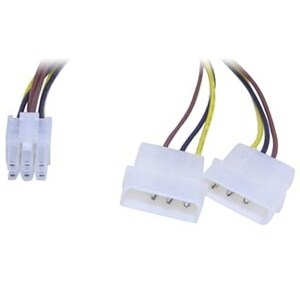 """Link Depot POW-ADT-PCIE Link Depot POW-ADT-PCIE Power Adapter Cable - 8"""""""