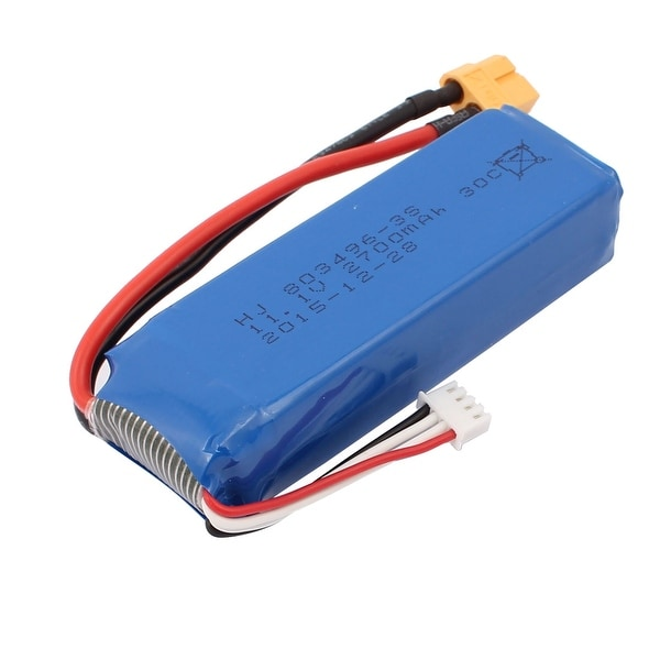 DC 11.1V 2700mAh Rechargable Lithium Battery Pack for RC Boat Aircraft