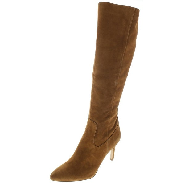 fd6515329 Shop Sam Edelman Womens Olencia Knee-High Boots Leather Pointed Toe ...