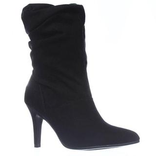 SC35 Adelay Mid-Calf Dress Boots - Black