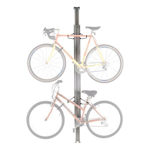 Gear Up Aluminum 2-Bike BAU Floor/Ceiling Bicycle Storage Rack - 10015